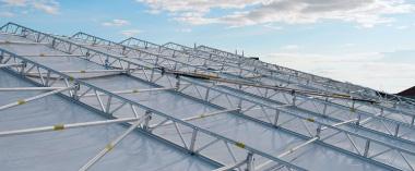 ALFIX - Gerüste direkt vom Hersteller: Wetterschutzdächer